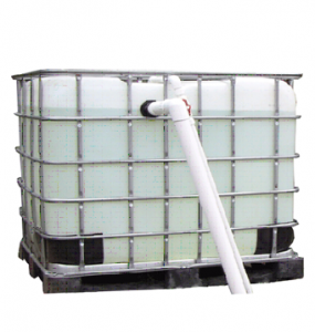 Aquaponics IBC Fish Tank